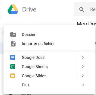 fenetre-menu-google drive-denaerys