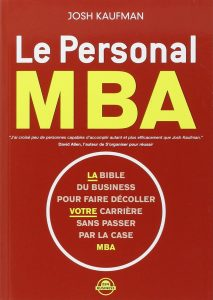 le personal MBA-Josh Kaufman